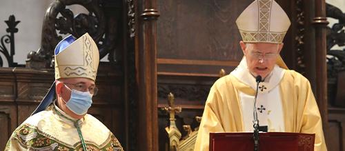 Homélie de Mgr Pierre-Marie Carré pour le Jeudi Saint