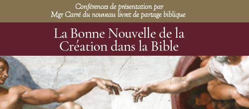 Enregistrement de la conférence de présentation du nouveau livret de partage biblique