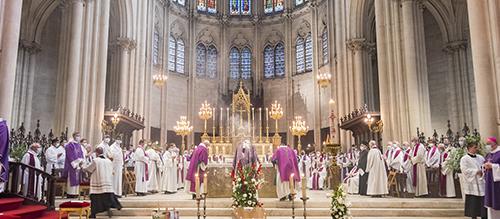 Obsèques de Mgr Claude Azéma